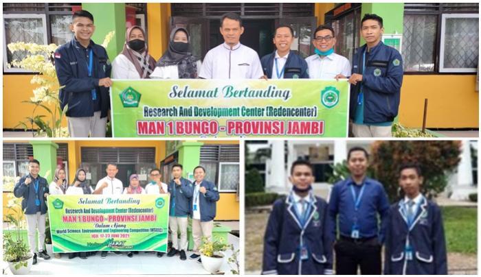 BERTANDING DENGAN 20 NEGARA, SISWA MAN 1 BUNGO SIAP IKUTI WSEEC 2021 DI JAKARTA